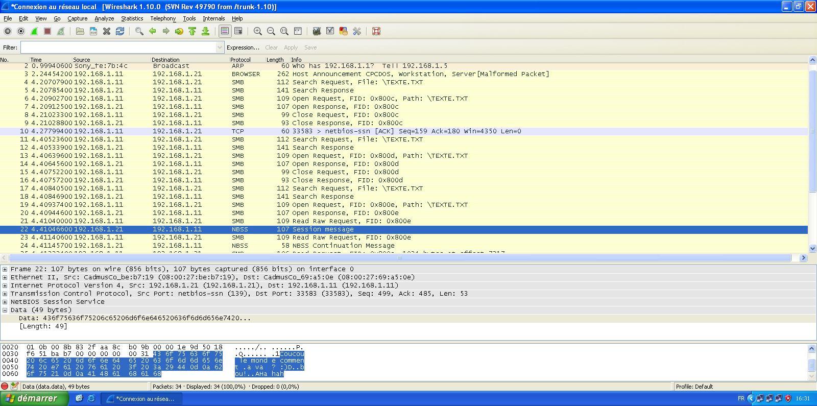 I have found the problem !! (FreeBASIC + Network